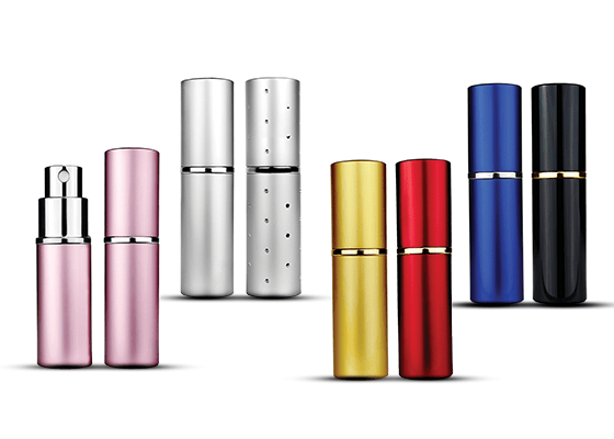 Metal Shell Perfume Atomizers
