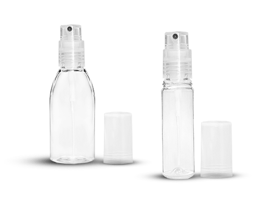 Plastic Bottles With Fine Mist Sprayers