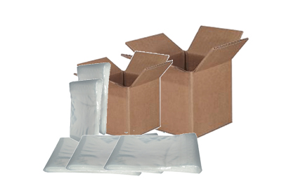 Re-closable Plastic Bags and Shipping Boxes